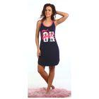 Платье женское Космо цвет тёмно-синий, р-р 44
