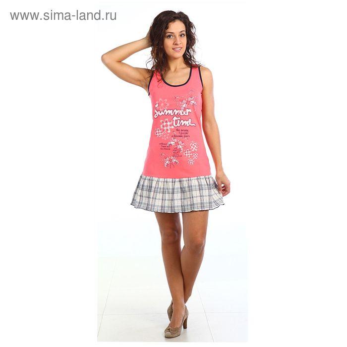 Платье женское Кэрол цвет коралловый, р-р 46