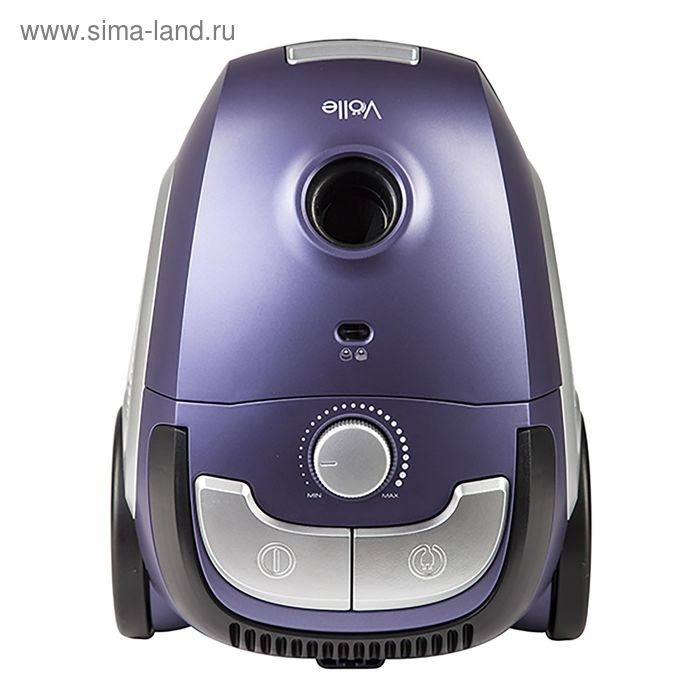 Пылесос Volle KPA-109, 1600 Вт, 1.2 л, фиолетовый