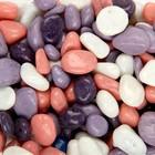 Галька для аквариума (5-10 мм) сиреневая-белая-розовая-фиолетовая, 350 г