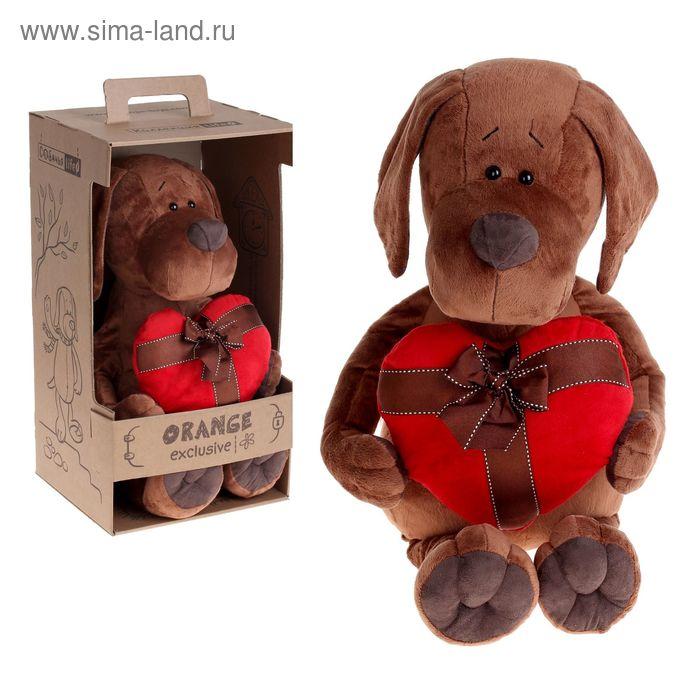 Мягкая игрушка «Пёс Барбоська с сердцем»