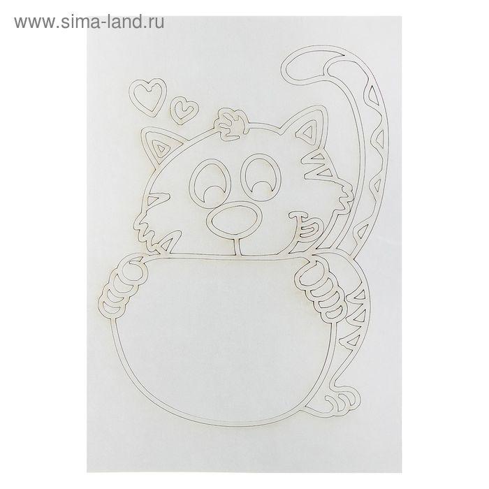 "Песочная рамка ""Кошка №2"""