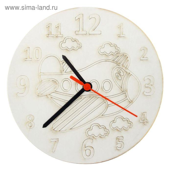"""Песочные часы """"Самолётик"""": механизм, 3 стрелки, крючок"""