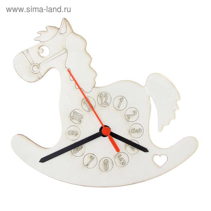 """Песочные часы 3D """"Лошадка"""": механизм, 3 стрелки, крючок"""