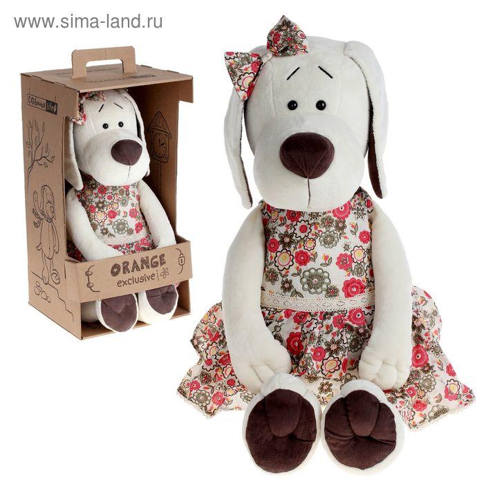 Мягкая игрушка «Собачка Лапуська в летнем платье»