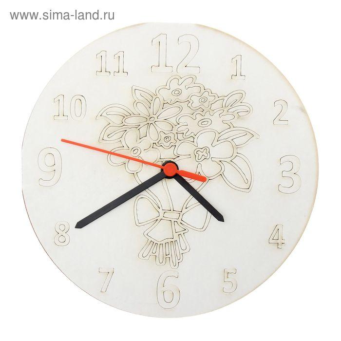 """Песочные часы """"Цветы"""": механизм, 3 стрелки, крючок"""