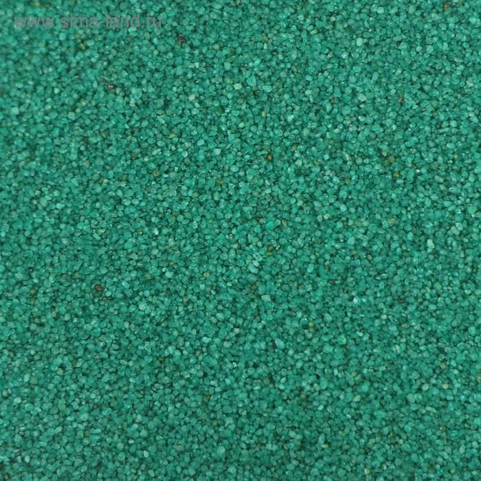 """Песок для рисования """"Зелёный"""", 1 кг"""