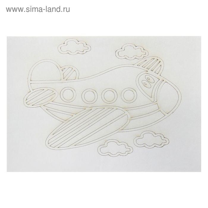 "Трафарет ""Самолет №2"" A4"