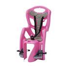 Велокресло заднее Bellelli Pepe Standard, крепление на раму, цвет розовый