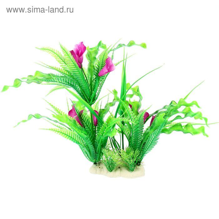 Растение искусственное аквариумное, 33 х 20 х 27 см