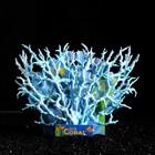 Коралл пластиковый большой 24,5 х 4 х 19 см, голубой