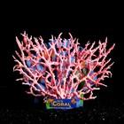 Коралл пластиковый большой 24,5 х 4 х 19 см, розовый
