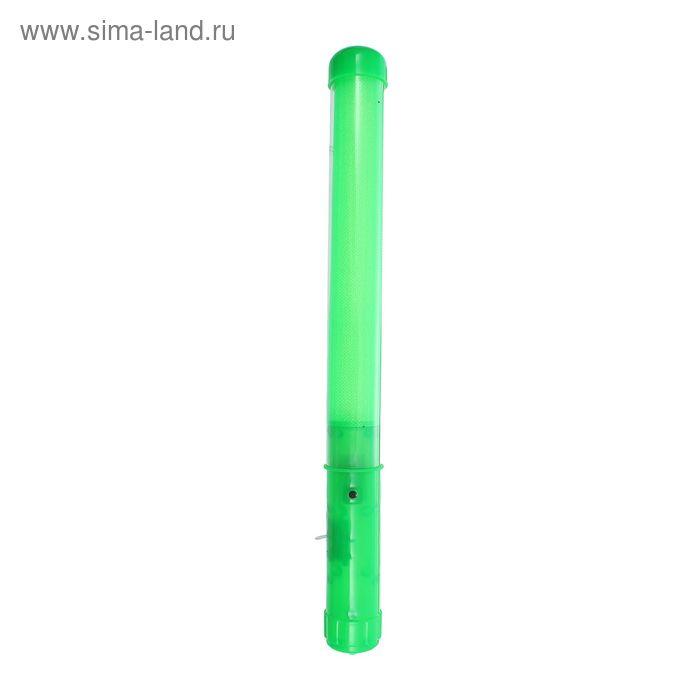 "Палочка световая ""Однотонная"", цвет зеленый"