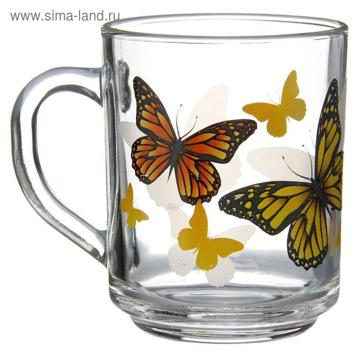 "Кружка 200 мл ""Желтые бабочки"""