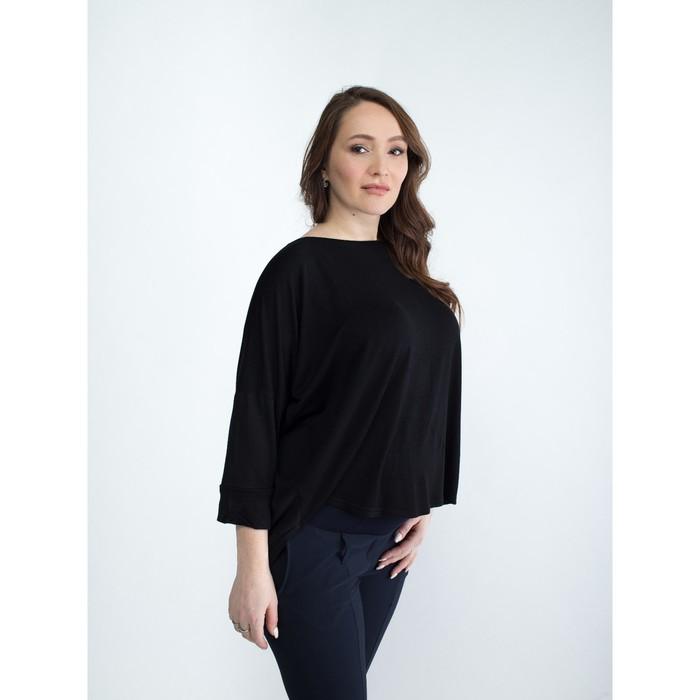 Блузка для беременных 2281, цвет черный, размер 46, рост 170