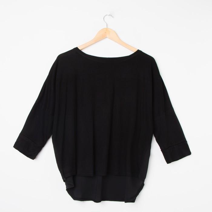 Джемпер для беременных, цвет чёрный, размер 46, рост 170