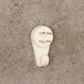 Крепление для картины «Без гвоздя», большое, цвет белый