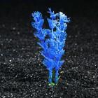 Растение искусственное аквариумное Лимнофила, 10 см, бело-синяя