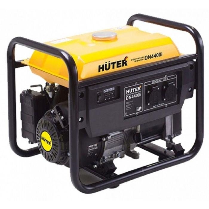 Инверторный генератор Huter DN4400i, 3.3/3.8 кВт, 10.5 л, 220 В, ручной старт