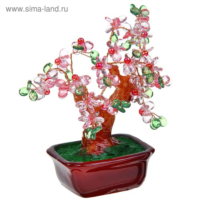 "Сувенир ""Деревце с цветами"", микс"