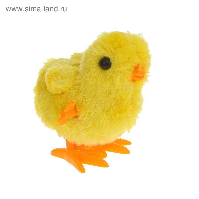 """Игрушка интерактивная """"Цыпленок"""" большие глазки, заводная"""