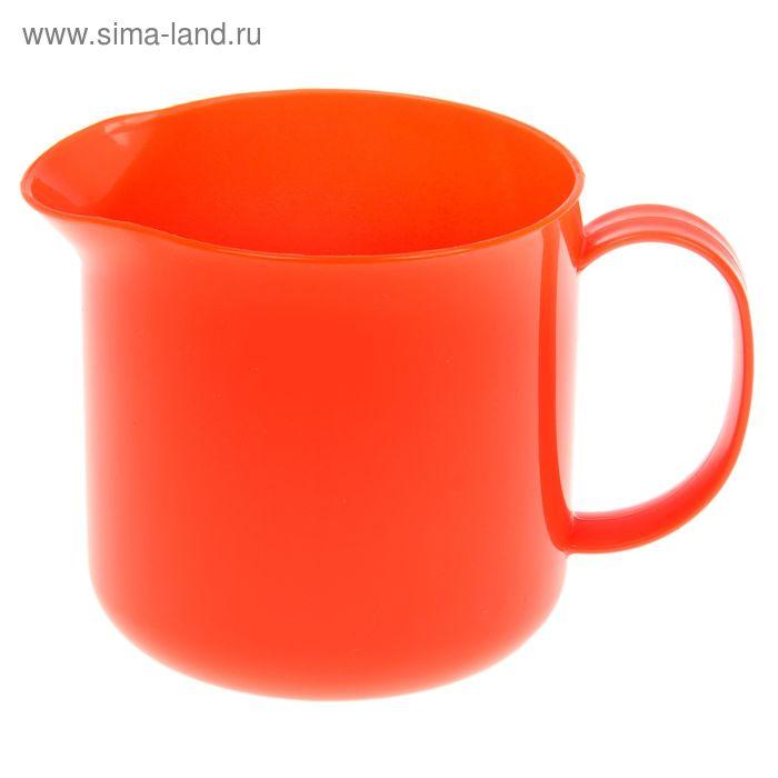Кружка с носиком 500 мл, цвет оранжевый