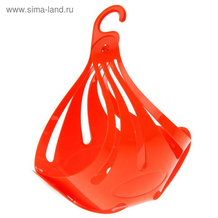 Корзинка для прищепок, цвет оранжевый