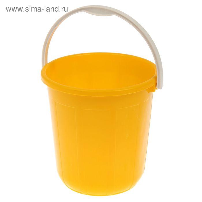 Ведро пищевое 5 л, цвет желтый