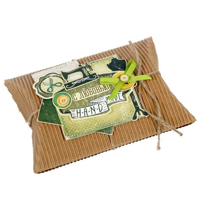 "Набор для создания коробки-подушки ""Hand made"", 14 х19 см"