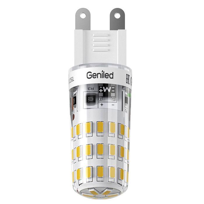 Лампа светодиодная Geniled, G9, 4 Вт, 4200 K  дневной свет