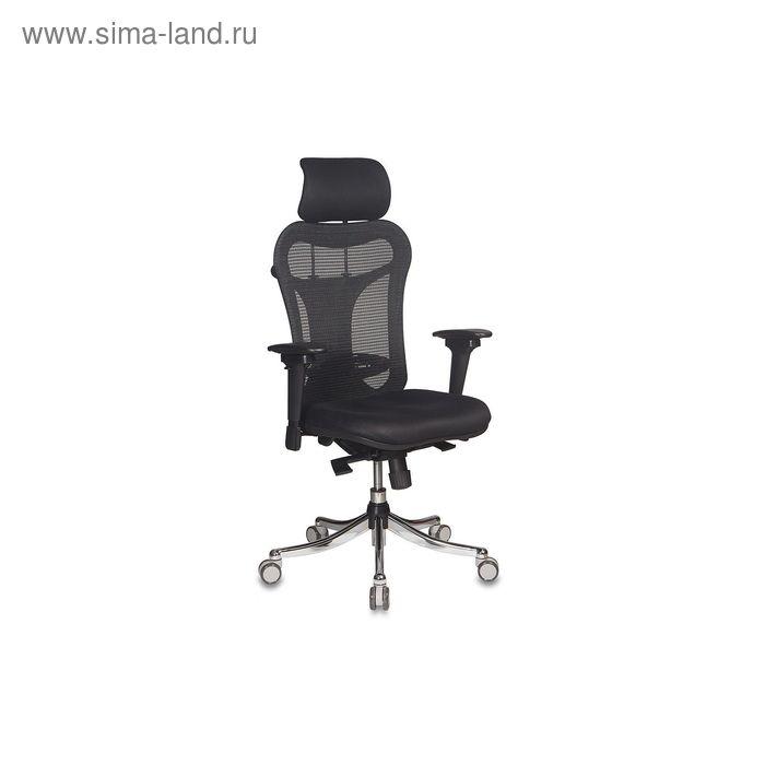 Кресло руководителя CH-999ASX спинка сетка черный, сиденье черный TW-11