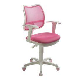 Кресло CH-W797/PK/TW-13A спинка сетка розовый, сиденье розовый