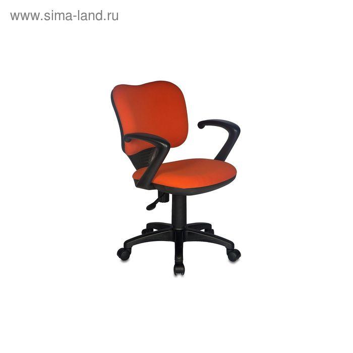 Кресло CH-540AXSN-LOW/26291 низкая спинка, оранжевый 26-29-1