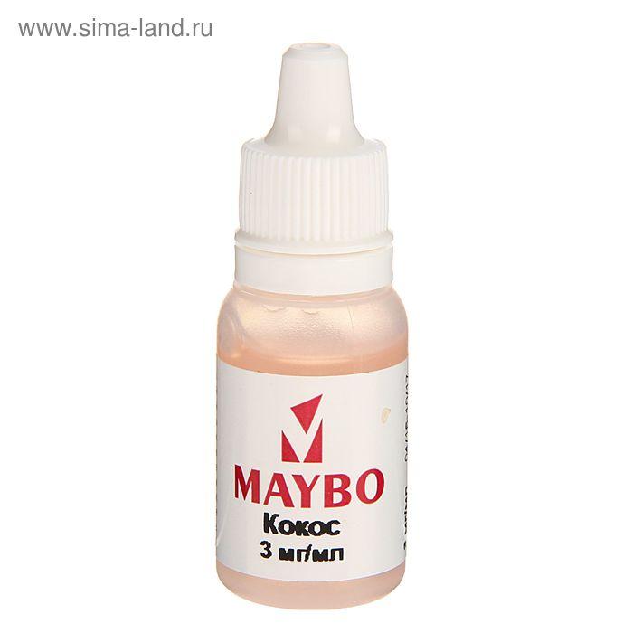 Жидкость для многоразовых ЭИ Maybo, кокос, 3 мг, 10 мл