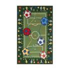 Ковер принт Футбол, размер 100х150 см, цвет зеленый, полиамид