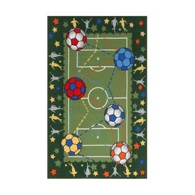 Ковер «Футбол», 100х150 см, зелёный