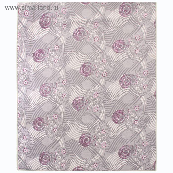 Ковёр Анис, размер 200х500 см, цвет серый, войлок 120 г/м2