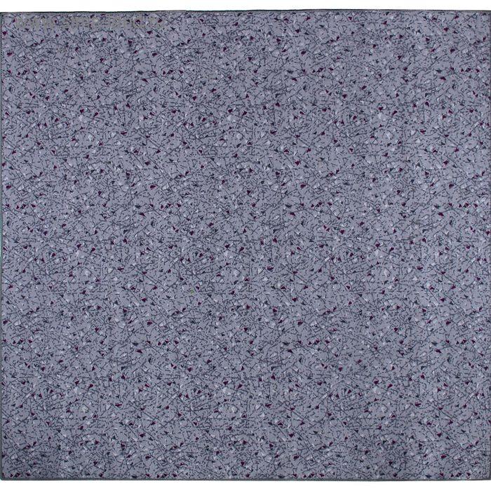 Ковёр Розмарин, размер 200х450 см, цвет серый, войлок 120 г/м