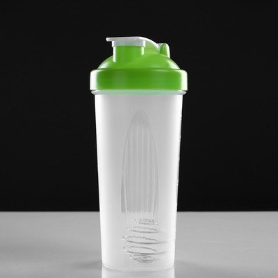 Shaker 650 ml, with bulb, mix, 9х22 cm