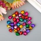 """Набор декора для творчества """"Бубенчики цветные"""" d=0,8 см, 35 шт."""