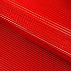 Бумага гофрированная 50 х 70 см, цвет красный
