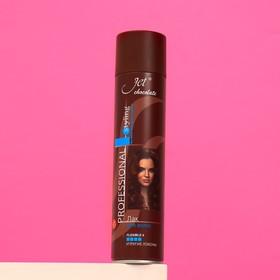 """Лак для волос Jet chocolate Flexible maxi """"Ультрасильная фиксация"""", 300 мл"""