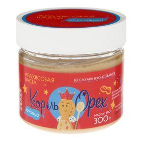 """Арахисовая паста """"Король Орех"""" хрустящая, 300 г"""