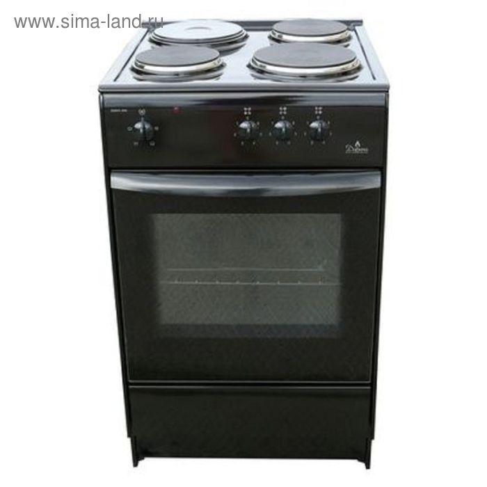 Плита электрическая Darina S EM 331 404Вt, 4 конф., 47 л, эмаль, без гриля, черная