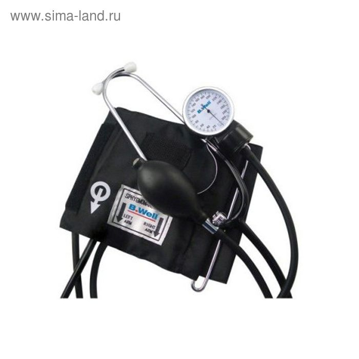 Тонометр механический B.Well WM-63S (встроенный стетоскоп)