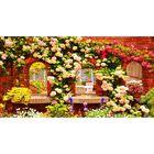 Фотосетка, 250 × 158 см, с фотопечатью, «Фасад террасы»