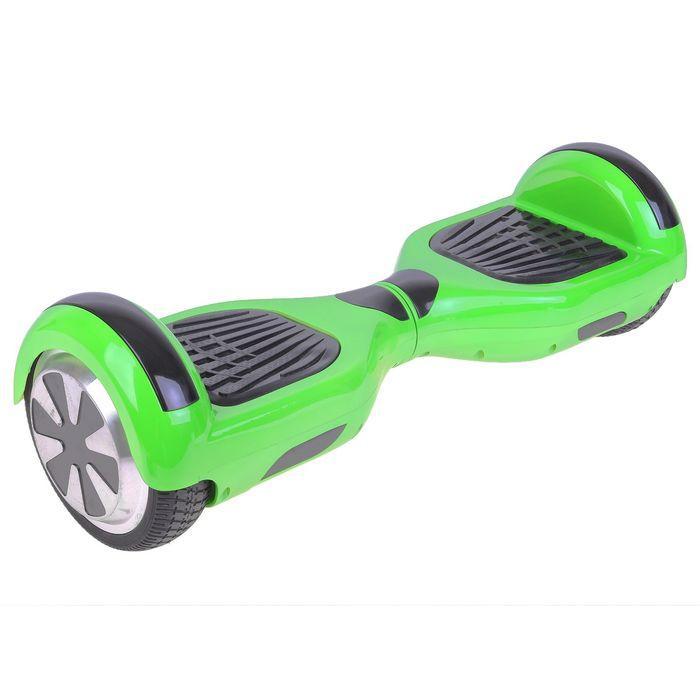"""Гироскутер, диаметр колёс 6.5"""", цвет зелёный"""