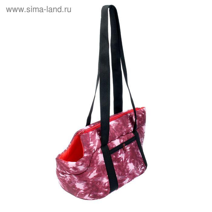 "Переноска-лежанка ""Кабриолет"" №0, 34 х 20 х 21 см  микс цветов"