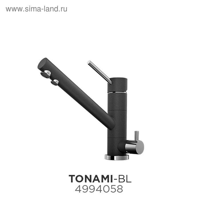 Смеситель для кухни Omoikiri Tonami-BL 4994058, черный