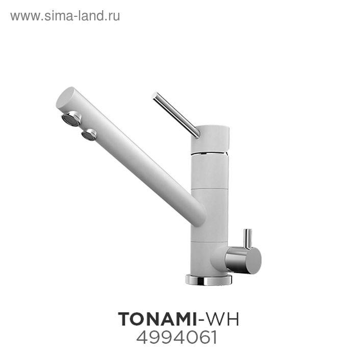 Смеситель для кухни Omoikiri Tonami-WH 4994061, белый